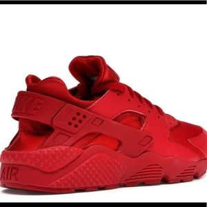 Huaraches/red/8 or 9